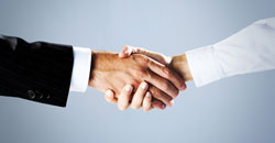 handshake image inspires trust confidence