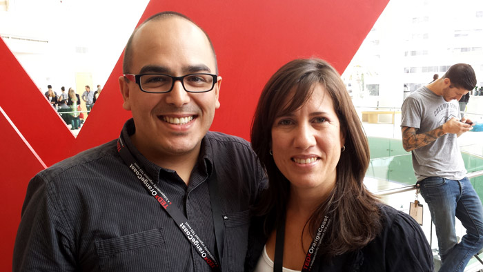 Mayra Rodriguez and Oscar Gonzalez