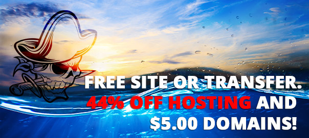 Talk like a pirate day! Free Website Deal