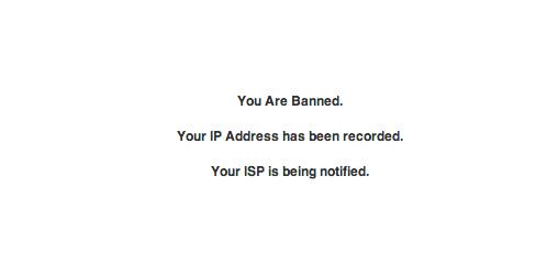 warning-ip-address-banned