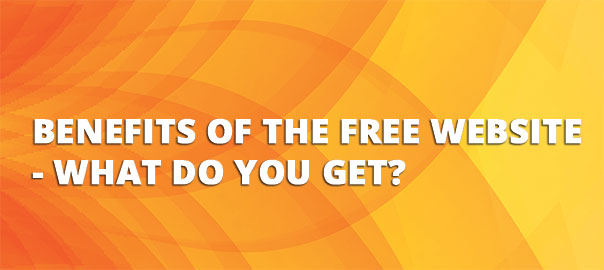 What do you get with our Free Website Service?