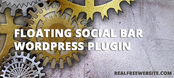 Floating Social Bar Plugin for WordPress – Crème de la Crème